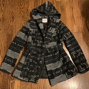 Kirra Tribal Warm Partial Wool Jacket